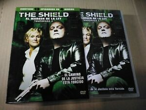 THE SHIELD TEMPORADA 4 COMPLETA EN DVD