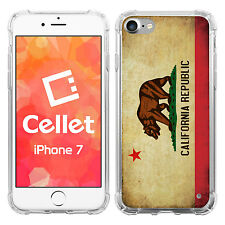 Vintage California Flag on Apple iPhone 7 Case