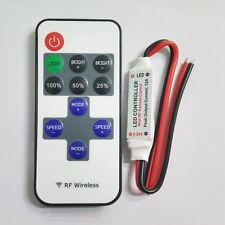 RF Wireless Remote Controller 12A 5V-24V Mini Controller for 12V LED Strip