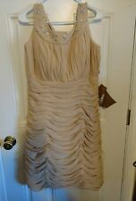 """Gorgeous Light in the Box brand """" Champagne"""" strapless beautiful  Dress Size 16"""