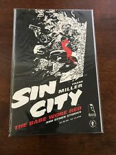 Sin City The Babe Wore Red and other Stories #1 Dark Horse 1994 Free bag/board