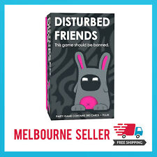 Disturbed Friends FUN Party Card Game Adult Drinking Game Family MELBOURNE STOCK