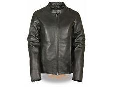 Milwaukee Leather Ladies' Motorcycle Jacket Black 2XL MSRP $299.99