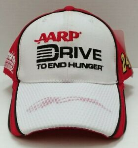 Jeff Gordon Adjustable Hat Drive To End Hunger Nascar Racing Hat Free Ship # 24