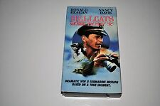 HELLCATS of the NAVY VHS  Ronald Reagan  Nancy Davis Free Shipping