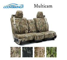 Coverking Custom Seat Covers Ballistic Canvas Front Row - Multicam Camo