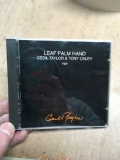 Cecil Taylor & Tony Oxley-Leaf Palm Hand FMP CD 6 1989 Free Jazz Import Live