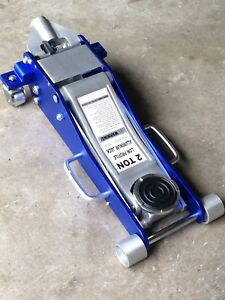 Trolley Jack Aluminum 2 Ton Low Profile Alloy Jacks Garage Floor Race New Blue