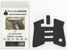 Tractiongrips rubber grip overlay decal for Generation 3 Glock 17, 22, 34, 35 37