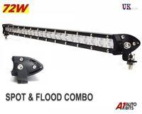 25 Inch 72W LED Slim Work Light Bar Spot Flood Combo Off-Road Driving SUV 4x4
