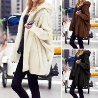 Femme Automne et Manteau d'hiver Chaud Poche Peluche Manche Longue Veste Plus