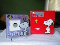 Peanuts Photo Frame Snoopy Woodstock New with Box