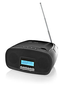 Boombox DAB+ /FM mit CD-Player Digitalradio Radio MP3 USB AUX-In Radio tragbar