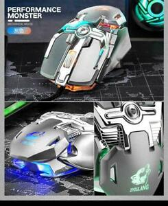 6400DPI 1.5m RGB Optical Gaming Mouse Macro Definition for XP MAC Win 7 10 Linux