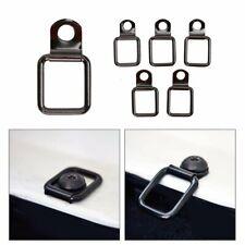 For 2007-2018 Jeep Wrangler JK D-Ring Bracket Clip Anchor Tie Down Ring 6 Pcs