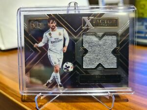2017/18 Panini Select X Factor Soccer Card Isco