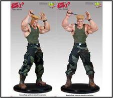 Sideshow Pop Culture Shock GUILE Statue Street Fighter Ken Ruy