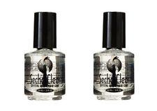 2 Bottles of Seche Vite Clear Crystal Base Coat .5oz 83117