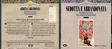 CARLO RUSTICHELLI SEDOTTA E ABBANDONATA LIKE NEW 1992 CAM ITALIAN CD