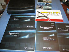 2012 HYUNDAI TUCSON OWNERS MANUAL SET W/ CASE NEW