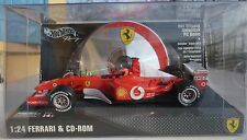 Ferrari F1 Schumacher 2002 & Cd-rom 1 24