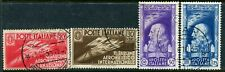 Italy. 1935 airmail set of 4 used