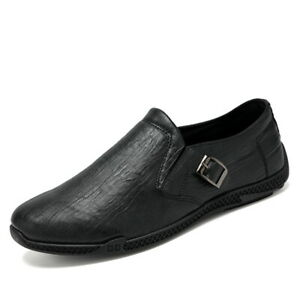 Mens Driving Moccasins Shoes Pumps Slip on Loafers Flats Walking Sports Casual D