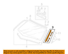 HONDA OEM 01-05 Civic Windshield-Reveal Molding Right 73152S5A003
