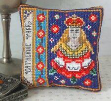 Sheena Rogers Designs La familia de Cambridge Mini Cojín Kit Punto De Cruz