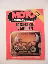 Moto Journal Février 1978 N°351 Trial V50 Guzzi Mick Grant