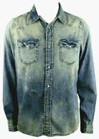 DIESEL new sonora Denim Jeans Hemd Shirt Jeanshemd  slim fit Gr. wählbar