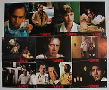 Nicolas Cage Bringing Out The Dead Spanish lobby card set 10 Patricia Arquette