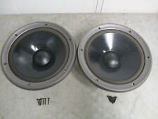 """Pair 2x Technics Eas-30Pl300T, Eas-30Pl301T,12"""" Woofer Speakers"""