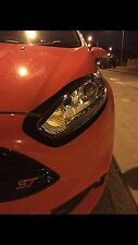 Ford Fiesta MK7.5 Face-lift Headlight Underbrows - ZS Ecoboost ST MK7 Facelift