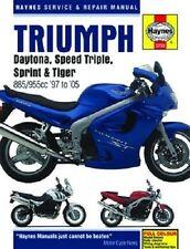 HAYNES MANUAL TRIUMPH DAYTONA T595 97-98 & 955i 99-05, T509 SPEED TRIPLE 99-04