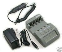 BT-C700 V2. Battery Charger Analyzer Tester NiMH NiCd AA AAA  BC-700 Car Adapter