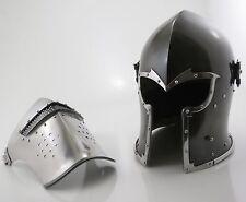 Medieval Barbute Helme Armour Helmet Roman knight helmets.NEW FOR SALE BUY NOW