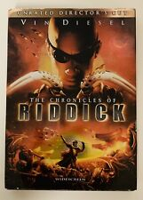The Chronicles Of Riddick (Dvd, 2004, Unrated Directors Cut, Widescreen)