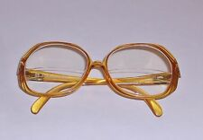 Vtg Christian Dior Optyl Frames 2035-11 Yellow 52 14 Germany VGVC