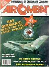 AIR COMBAT V12 N3 GERMAN LUFTWAFFE LOCKHEED TF-104 STARFIGHTER JABO 31 NATO