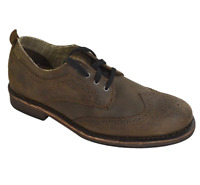 NEW CAT Caterpillar Men's Vaught OXFORD Shoes Bitter Chocolate 9 M - FREE SHIP