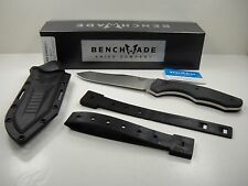 BENCHMADE 183 FIXED CONTEGO OSBORNE STEEL SURVIVAL FIXED BLADE KNIFE NEW IN BOX