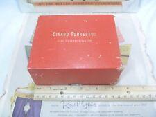 RARE 1950s Girard-Perregaux Gents Wristwatch OUTER Presentation Box- L@@K! N/R