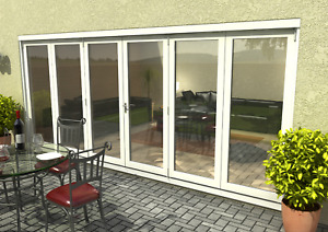 4795 x 2095mm Bifold Doors External Pre-finished / Unfinished Mixed (Ref ZA355)
