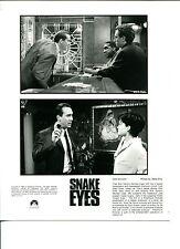 Nicolas Cage Carla Gugino Chip Zien Stan Shaw Snake Eyes Press Movie Photo