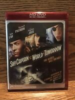Sky Captain And The World Of Tomorrow (HD/DVD 2004) Disc VG Angelina Jolie Jude