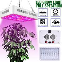 Dual Chips 600W LED Grow Light Full Spectrum for Hydroponic Plant Veg Flower
