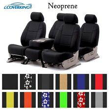 Coverking Custom Seat Covers Neoprene Front and Rear Row - 12 Color Options