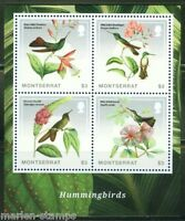 MONTSERRAT 2014 HUMMINGBIRDS SHEET MINT NH