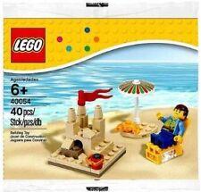 LEGO Seasonal Summer Scene 40054  New in Sealed PolyBag  Sandcastle Beach